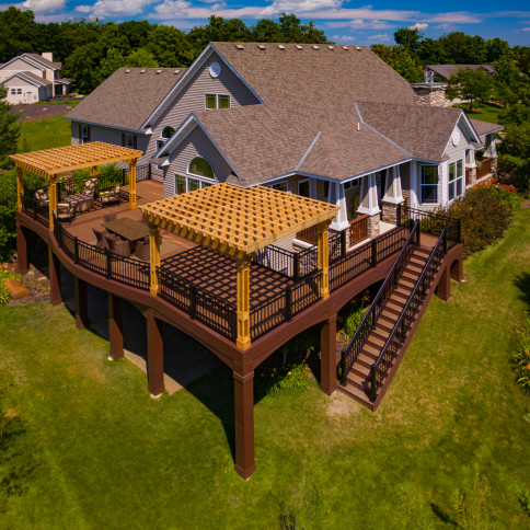 Maintenance free deck in Jordan, MN
